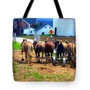 Horse Team Tote Bag