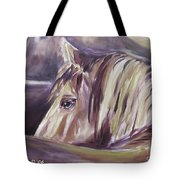 Horse World Detail Tote Bag