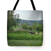 Horsedrawn Haycart, Transylvania 2 Tote Bag
