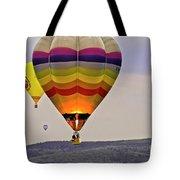 Hot-air Balloning Tote Bag by Heiko Koehrer-Wagner