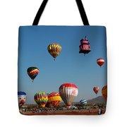 Hot Balloon Festival, Leon, Mexico Tote Bag