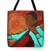 Hot Jazz Tote Bag