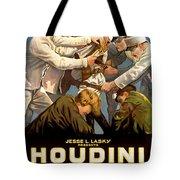 Houdini In The Grim Game 1919 Tote Bag