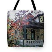 House In German Village Tote Bag