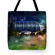House In The Sky Tote Bag