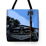 House Of Totem Tote Bag