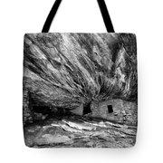 House On Fire Ruin Utah Monochrome 2 Tote Bag