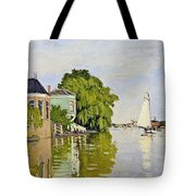 Houses On The Achterzaan Tote Bag