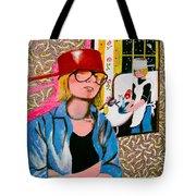 Housewife Tote Bag