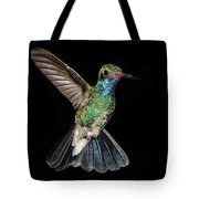 Hovering Hummer Tote Bag