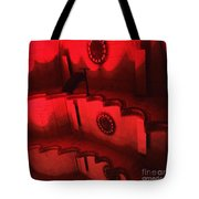 Hues Of Massey Hall - Red Tote Bag