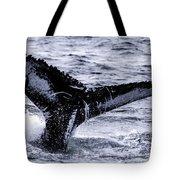 Humpback Fluke Tote Bag