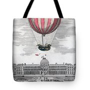 Hydrogen Balloon, 1783 Tote Bag