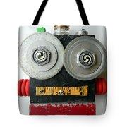 Hypno Bot Tote Bag by Jen Hardwick