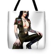 I Feel The Need Tote Bag