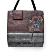 I Heart Ny Street Art 4 Tote Bag