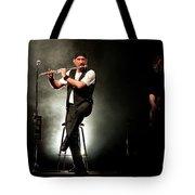 Ian Anderson Of Juthro Tull  Live Concert Tote Bag