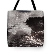 Ice And Sparkling Water Tote Bag