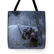 Ice Bridge Tote Bag