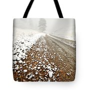 Ice Fog In Cypress Hills Provincial Park Of Saskatchewan Tote Bag