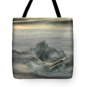 Ice In The Surf Tote Bag