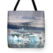 Iceland Glacier Lagoon Tote Bag