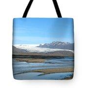 Iceland Landscape Tote Bag by Ambika Jhunjhunwala