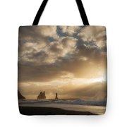 Icelandic Seascape Tote Bag