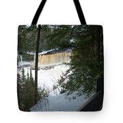Icy River Tote Bag