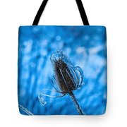 Icy Thistle Tote Bag