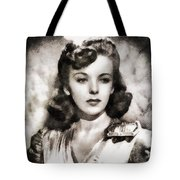 Ida Lupino, Vintage Actress Tote Bag