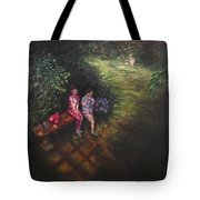 If Cinderella Had A Garden Tote Bag by J Reynolds Dail