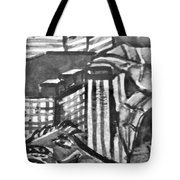 Iguana City Tote Bag