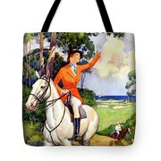 Illinois Mississippi Restored Vintage Poster Tote Bag