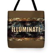 Illuminati Pop Art By Mary Bassett Tote Bag