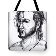 Imaginative Portrait Drawing  Tote Bag