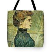 img296 Henri De Toulouse-Lautrec Tote Bag