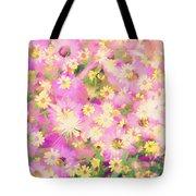 Impressionist Floral Xvi Tote Bag