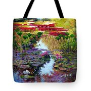 Impressions Of Summer Colors Tote Bag