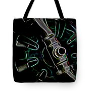 In Color Abstract 11 Tote Bag