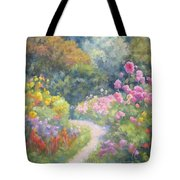 In Monets Footsteps Tote Bag