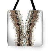 indian collar 3D effect Tote Bag