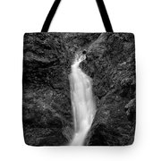Indian Well Flows Bw Tote Bag