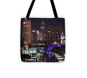 Indianapolis Canal View Tote Bag