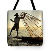 Inle Lake Fisherman Tote Bag