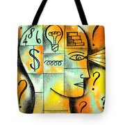 Knowledge And Idea Tote Bag