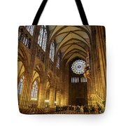 Interior Of Strasbourg Cathedral Tote Bag