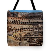Interior Of The Coliseum, Rome, Italy Tote Bag