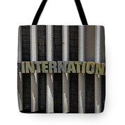 International Semi Truck Emblem Tote Bag