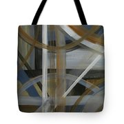 Intersection In Blue 4 Tote Bag